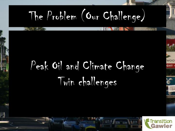 The Problem (Our Challenge)