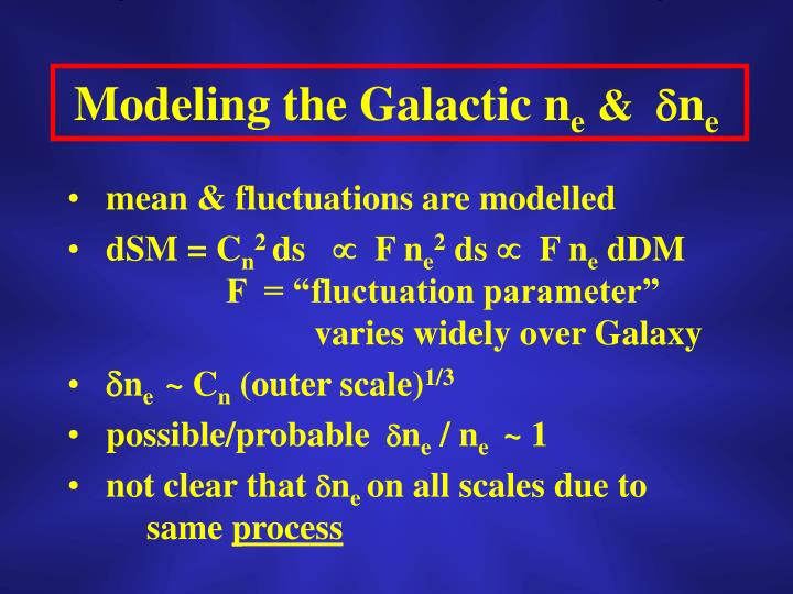 Modeling the Galactic n