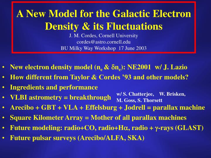 A New Model for the Galactic Electron Density & its Fluctuations