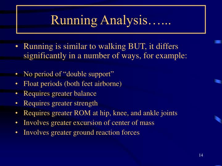 Running Analysis…...