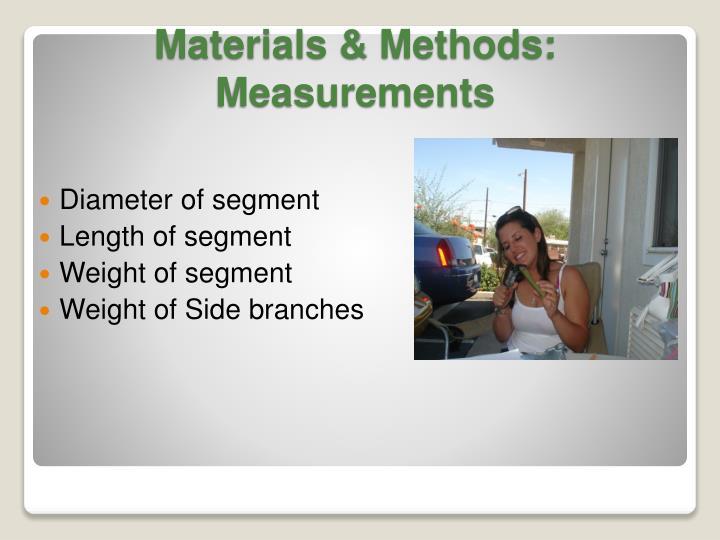 Diameter of segment