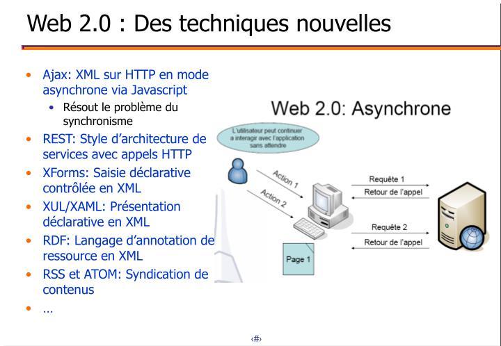 Ajax: XML sur HTTP en mode asynchrone via Javascript
