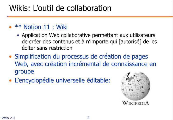 Wikis: L'outil de collaboration