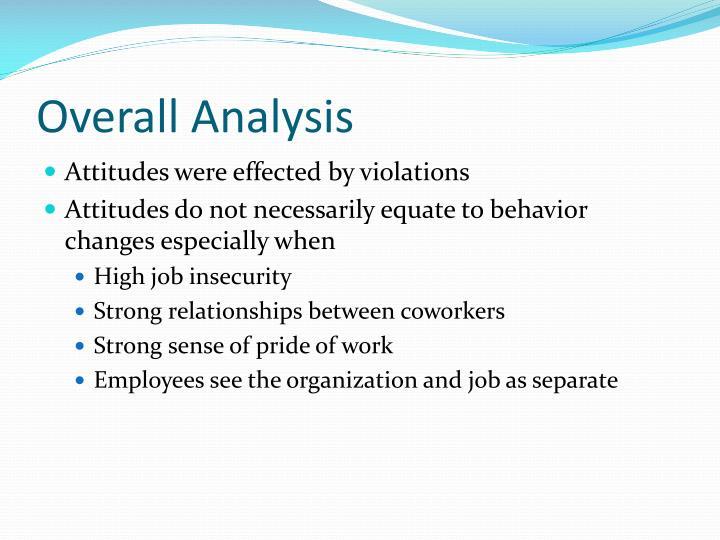 Overall Analysis