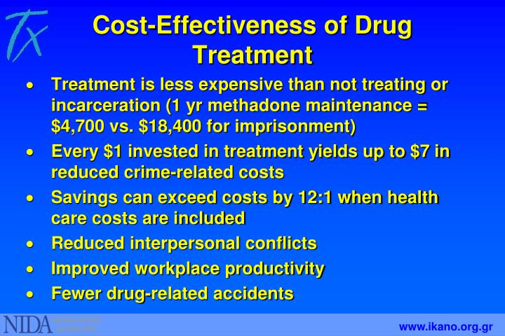 Cost-Effectiveness of Drug Treatment