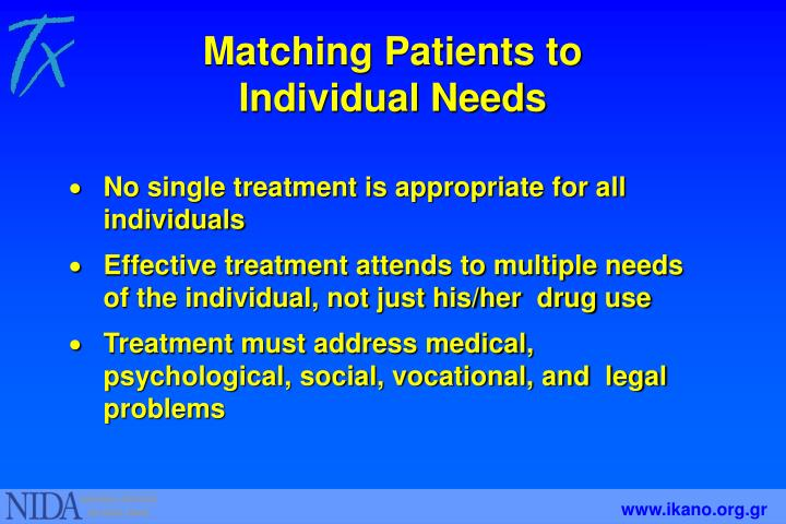 Matching Patients to