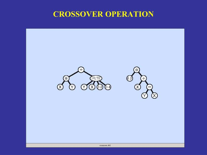 CROSSOVER OPERATION