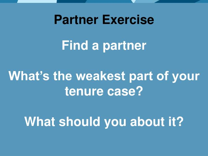 Partner Exercise