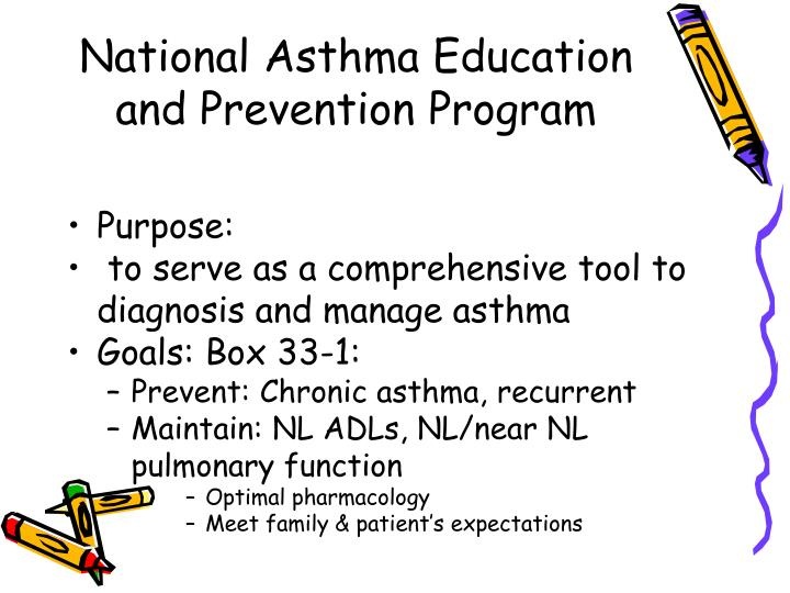 National Asthma Education and Prevention Program