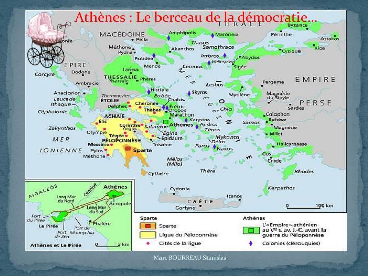 Athènes : Le berceau de la démocratie…
