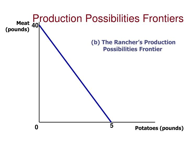 Production Possibilities Frontiers