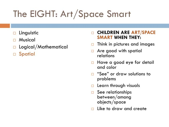 The EIGHT: Art/Space Smart