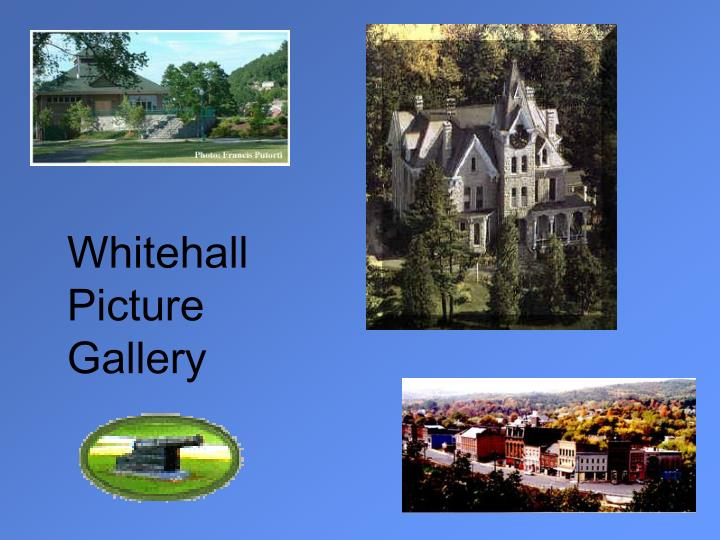Whitehall Picture Gallery