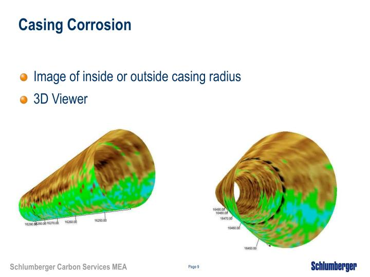 Casing Corrosion