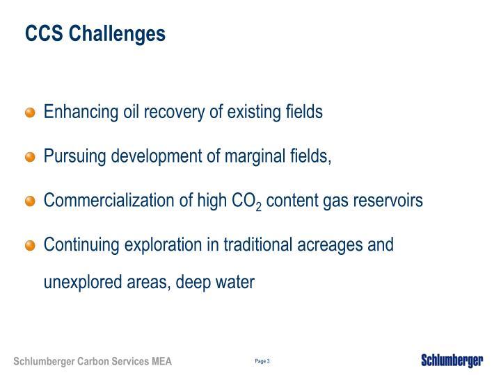 CCS Challenges