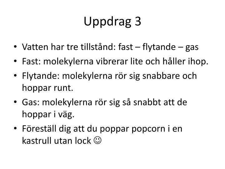 Uppdrag 3