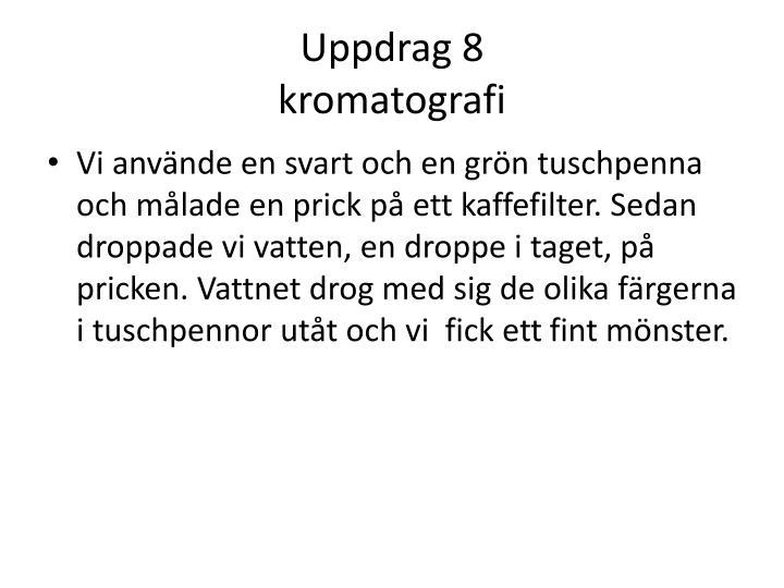 Uppdrag 8