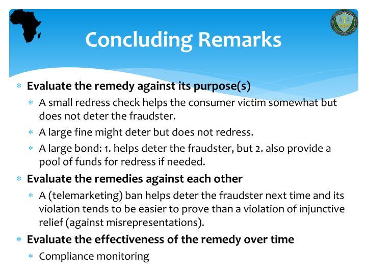 Concluding R