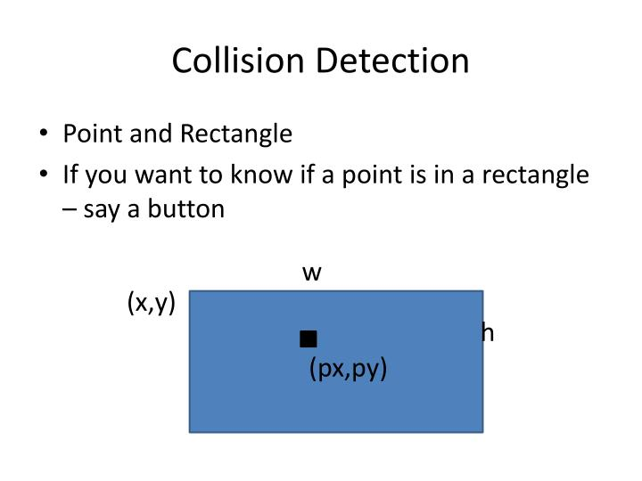 Collision detection1