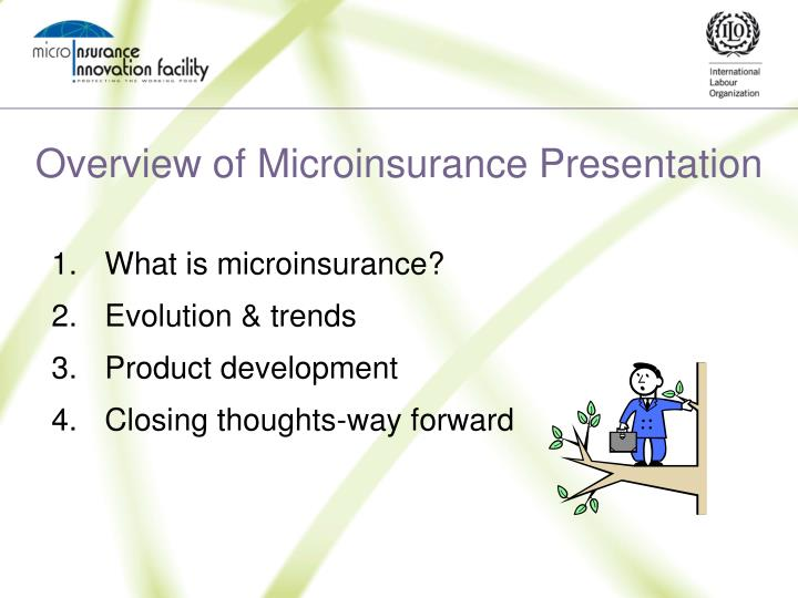Overview of microinsurance presentation