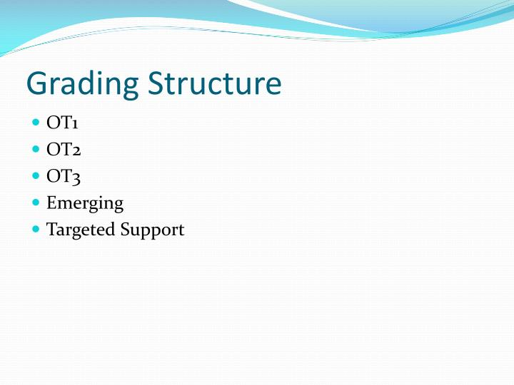 Grading Structure