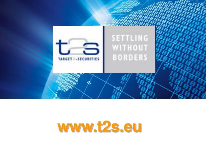 www.t2s.eu