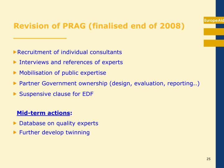 Recruitment of individual consultants