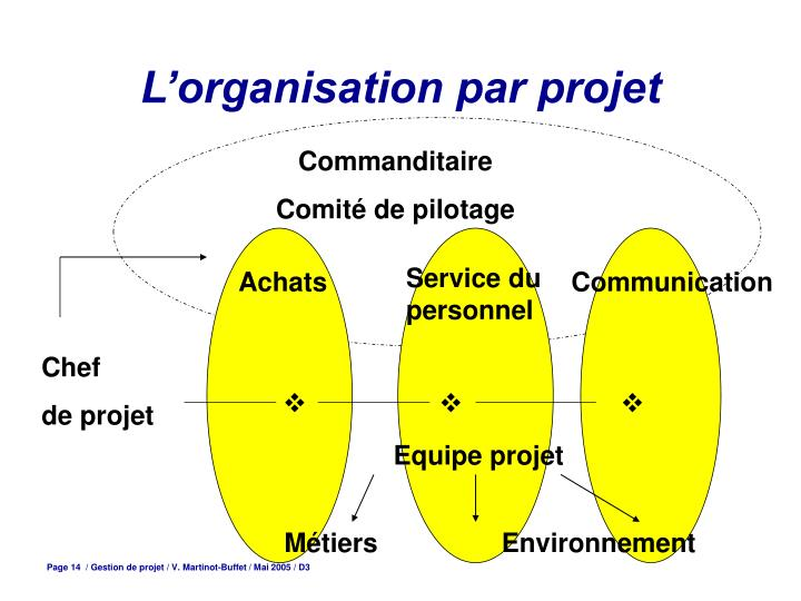 L'organisation par projet
