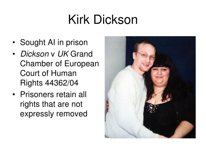 Kirk Dickson