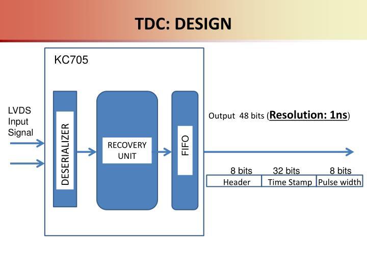 TDC: DESIGN