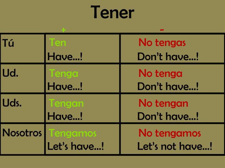 Tener