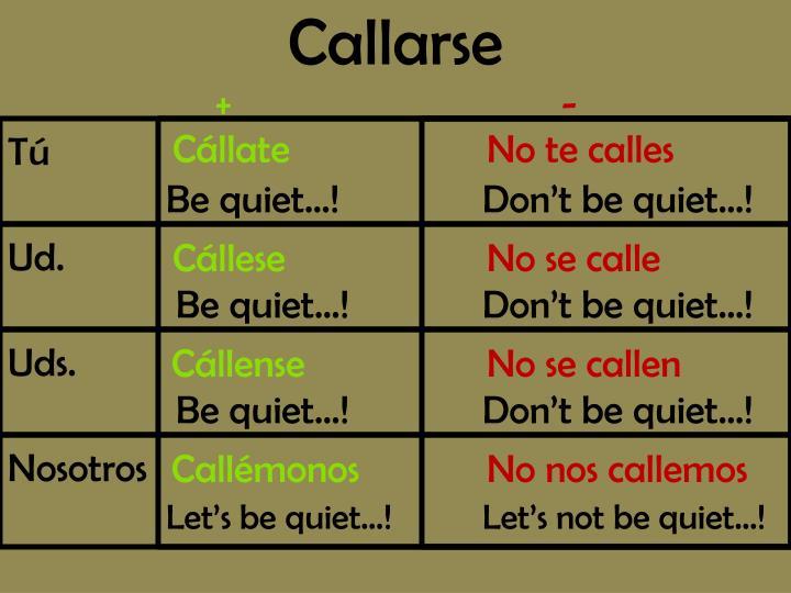 Callarse