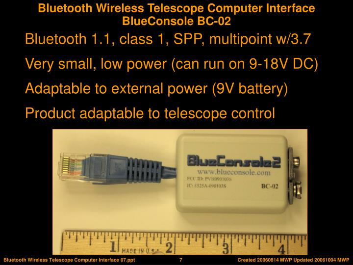 BlueConsole BC-02