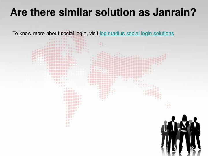 To know more about social login, visit