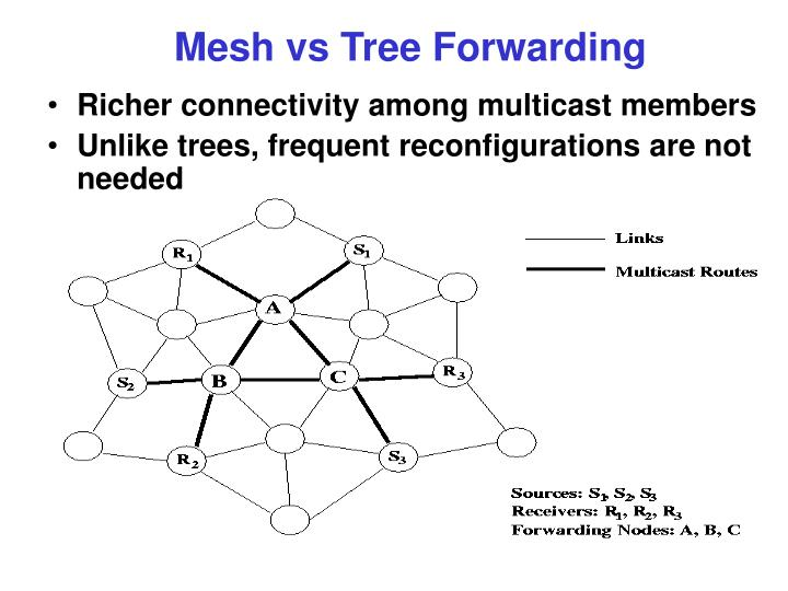 Richer connectivity among multicast members