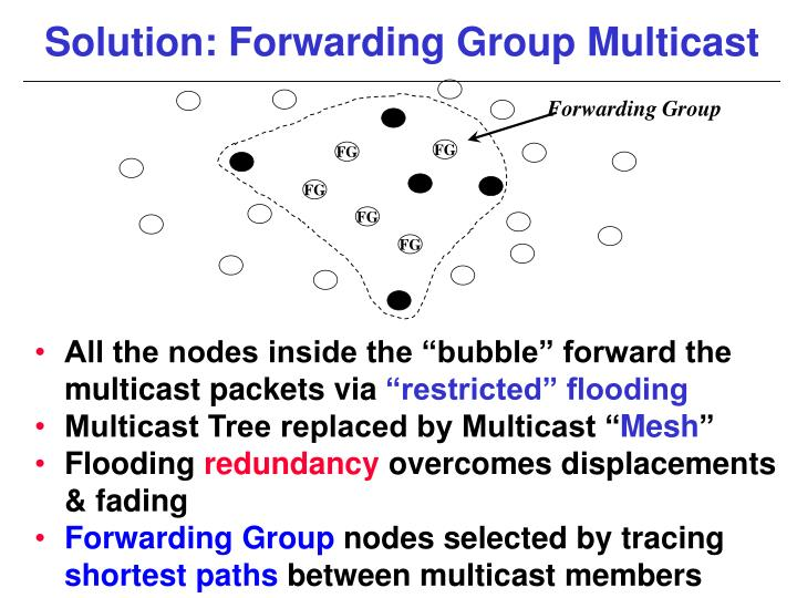 Forwarding Group