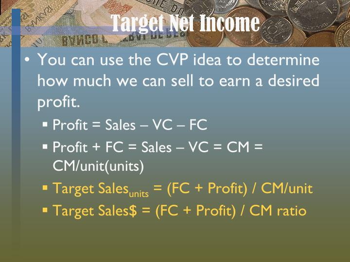 Target Net Income