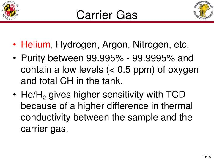 Carrier Gas