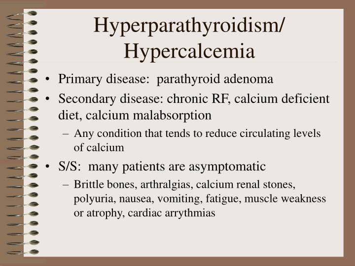 Hyperparathyroidism/
