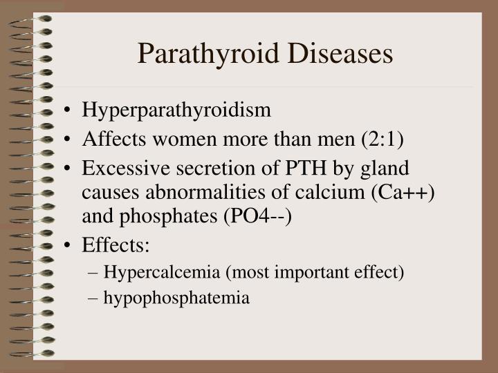 Parathyroid Diseases