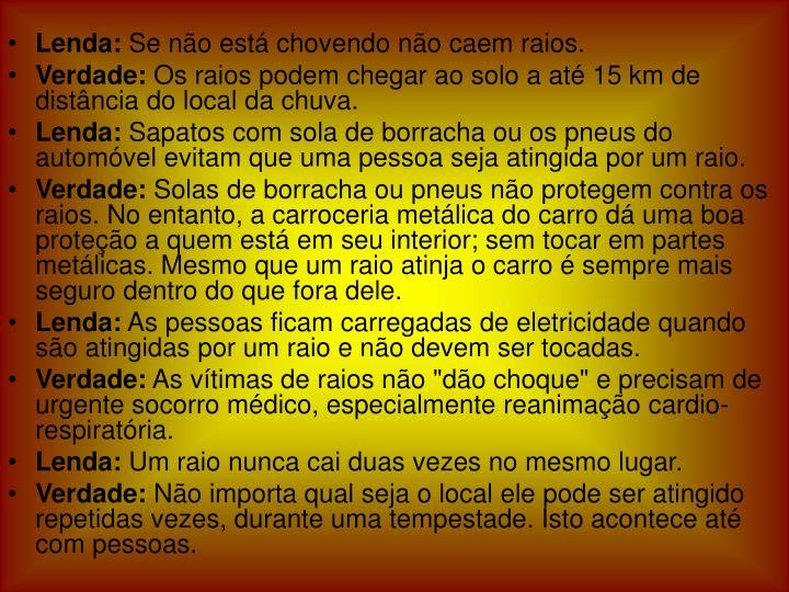 Lenda:
