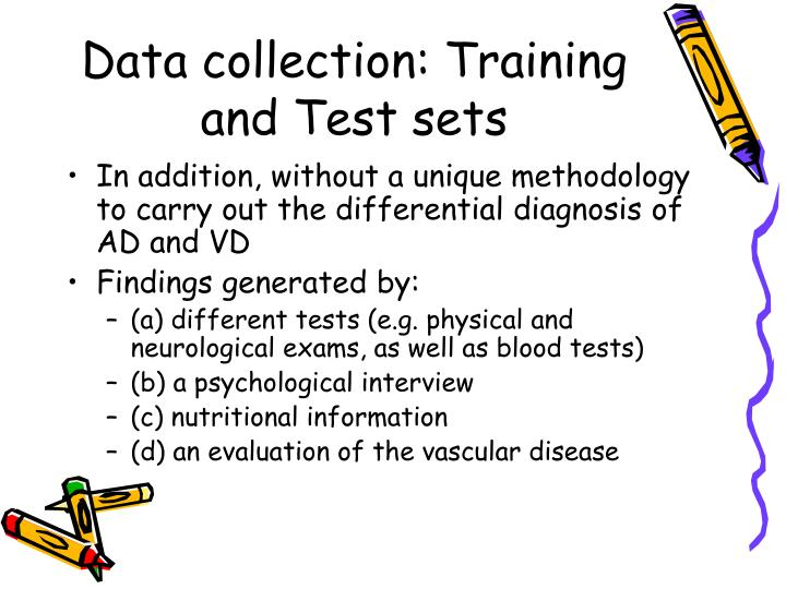 Data collection: Training and Test sets