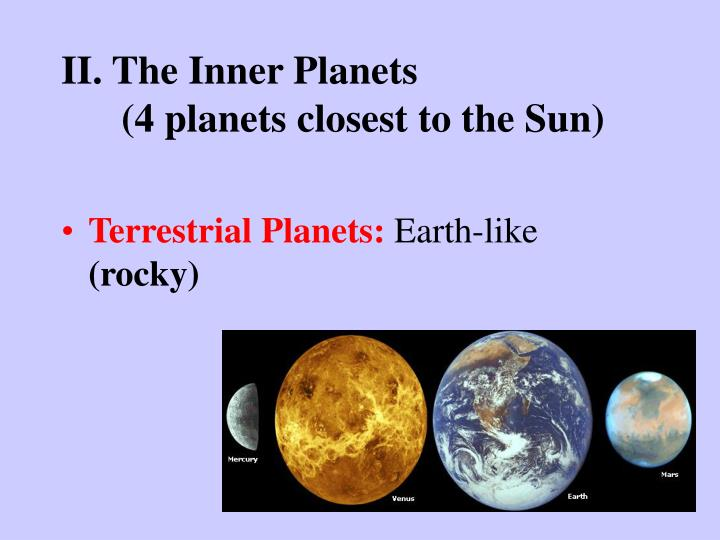 planets in order closest to the sun - photo #6