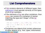 list comprehensions4