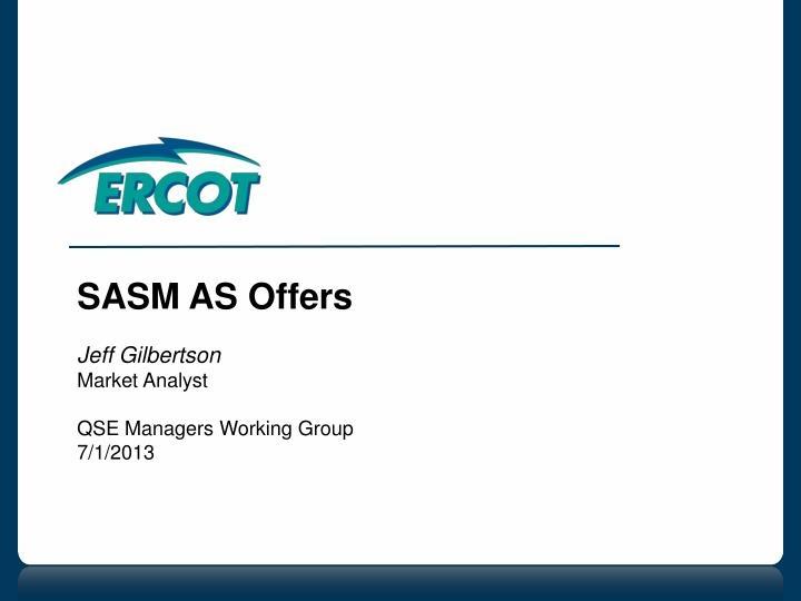 SASM AS Offers