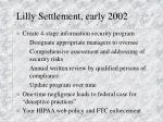 lilly settlement early 2002
