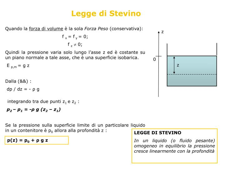 Legge di Stevino