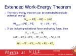 extended work energy theorem2