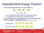 extended work energy theorem4