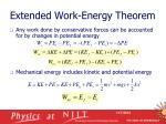 extended work energy theorem5